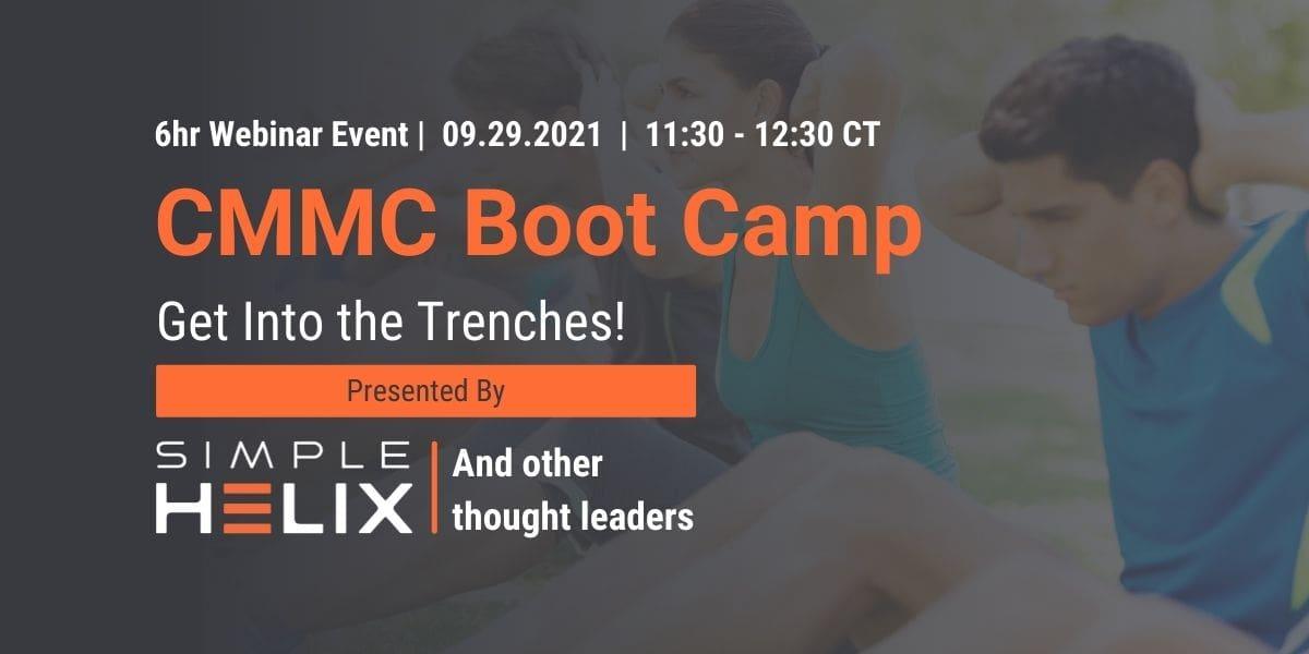 09.29.2021 - CMMC Boot Camp