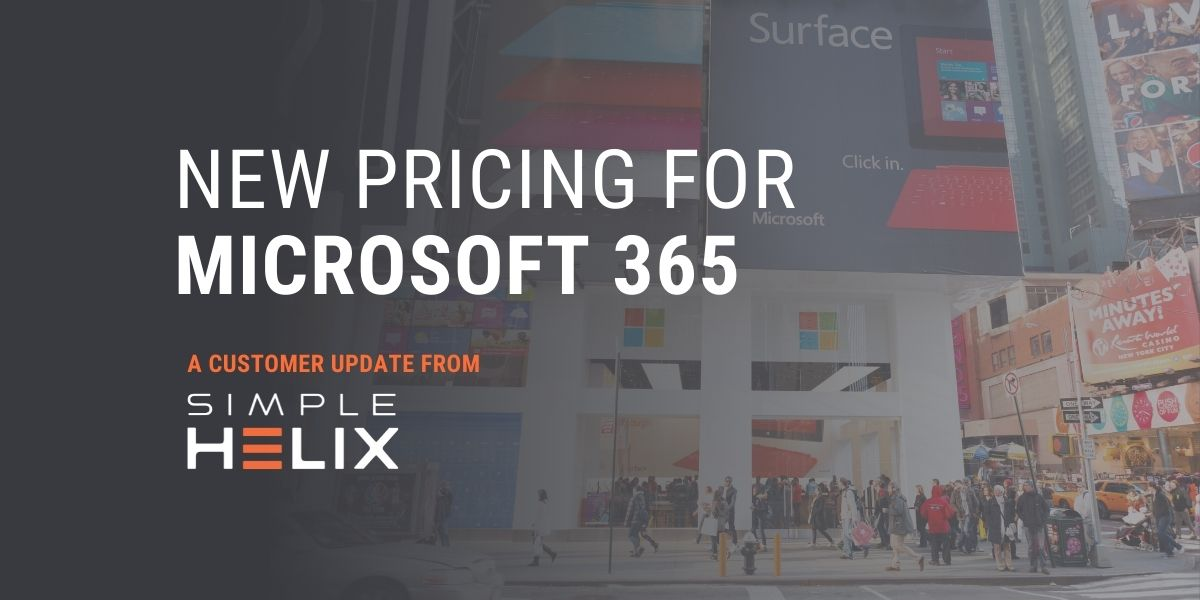 New Pricing for Microsoft 365 (Thumbnail)